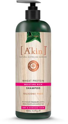 Akin A'Kin Wheat Protein Moisture Rich Shampoo 500Ml
