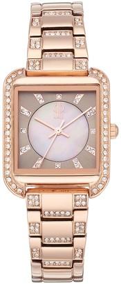 JLO by Jennifer Lopez Women's Evie Crystal Watch