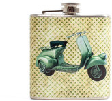 Liquid Courage Vintage Vespa Flask