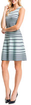Cynthia Steffe Kyra Striped Fit & Flare Dress
