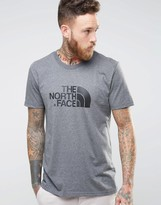 The North Face T-Shirt With Easy Logo In Gray