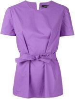 Ter Et Bantine belted blouse - women - Cotton - 40