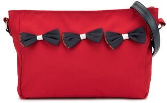 Familiar Bow Detail Shoulder Bag
