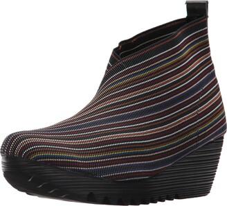 Bernie Mev. Women's Maile Fashion Boot Black Mix 36-41 M Medium EU (39 US)