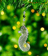 Waterford Crystal Seahorse 2017 Ornament