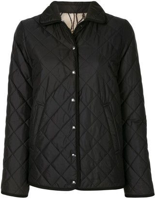 Salvatore Ferragamo Reversible Quilted Padded Jacket