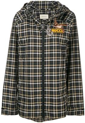 Gucci Embellished Check Jacket