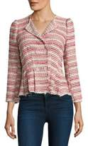 Rebecca Taylor Optic Tweed Jacket