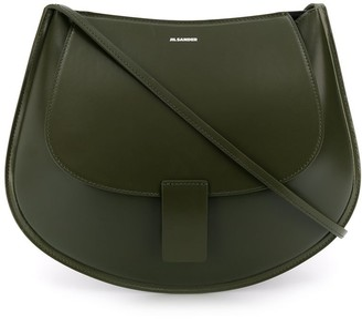 Jil Sander Cresent saddle bag