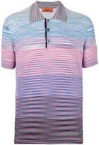 Missoni gradient polo shirt