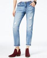 William Rast Tomboy Blue Influence Wash Straight-Leg Jeans