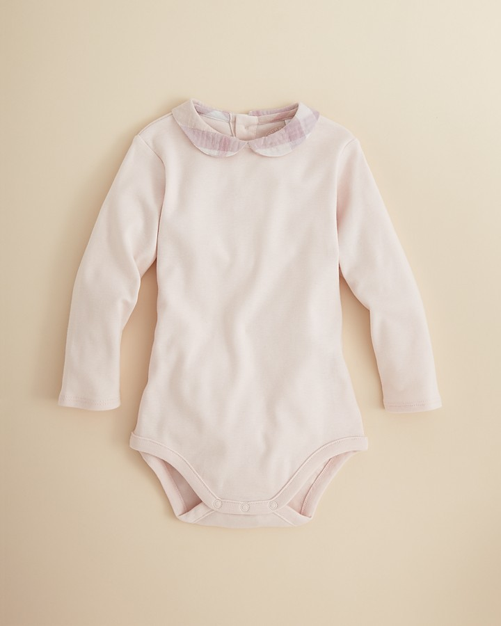 Burberry Infant Girls' Izzy Bodysuit - Sizes 1-24 Months