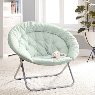 Pottery Barn Teen Recycled Blend Chenille Washed Pool Hang-A-Round Chair