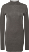 Rick Owens Virgin Wool Turtleneck Sweater