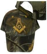 RFCO FREEMASON Mason EMBROIDERED ADJUSTABLE HAT camo masonic lodge camouflage cap