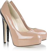 Brian Atwood Drama patent-leather pumps