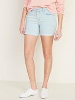 Old Navy Slim Midi Jean Shorts for Women - 5-inch inseam