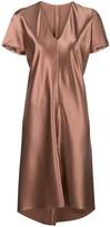 Peter Cohen short-sleeve flared dress