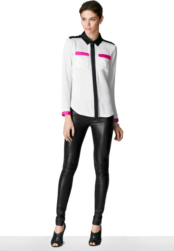 Milly Colorblock Blouse