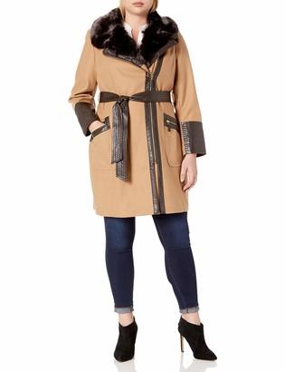 Via Spiga Women's Plus Size Kate Middelton Wool Coat