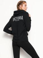 Victoria's Secret Victorias Secret Lightweight Fleece Zip Hoodie