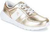 JAY SNEAKERS ATHLETIC SHOE Gold / White