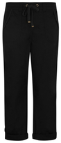 George Poplin Cropped Trousers