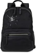 Lanvin Spider-embroidered Nylon Backpack
