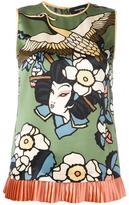 DSQUARED2 'Cherry Blossom' blouse - women - Silk - 40
