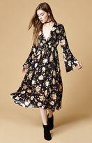 Somedays Lovin Dierdre Floral Print Midi Dress