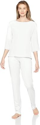 Hanro Women's Ayana 3/4 Sleeve Pajama Set