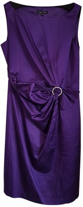 Hobbs Purple Silk Dress for Women