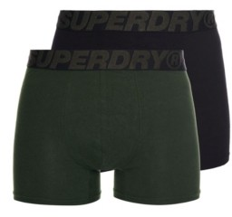Superdry Men's Organic Cotton Boxer Double Pack