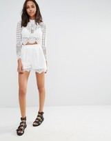 Missguided Lace Shorts
