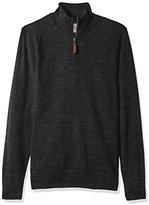 Dockers Long Sleeve 1/4 Zip Merino Sweater