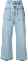 Nobody Denim Costa cropped wide-leg jeans