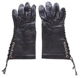 Hermes Whipstitch Lambskin Gloves