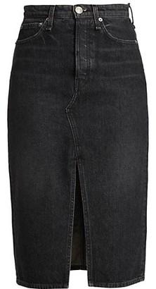 Rag & Bone Bonnie Denim Pencil Skirt