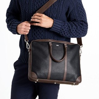Mark & Graham Italian Leather Briefcase