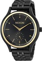 Nixon Women's 'Sala' Quartz Stainless Steel Watch, Color:Black