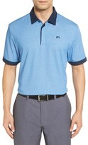 Travis Mathew Men's 'The Martin' Contrast Trim Pique Polo
