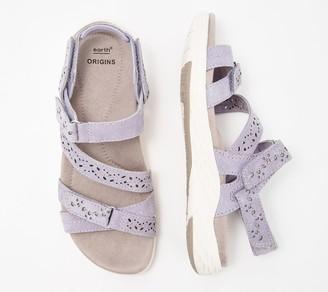 Earth Origins Suede Adjustable Sport Sandals- Westfield Wendy