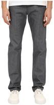 Naked & Famous Denim Weird Guy Grey Selvedge Denim Jeans Men's Jeans