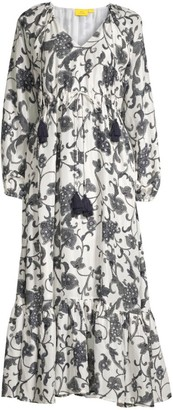 Roller Rabbit Twlight Floral Midi Cover-Up