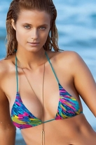 Beauty & The Beach Paint Splash Top in Multi