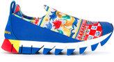 Dolce & Gabbana Mambo print slip-on sneakers
