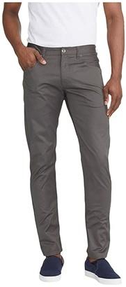 UNTUCKit Five-Pocket Pants Straight Fit (Dark Grey) Men's Casual Pants