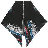 Coach car print scarf - women - Silk/Wool - One Size