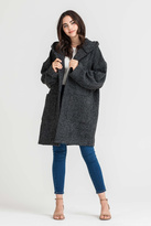 Lush Hooded Charcoal Jacket