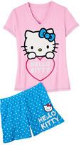 Hello Kitty Polka Dot PJ Set